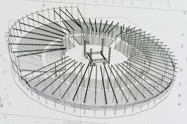 画面を近くで見てみると、設計図の非常に細かい部分まで忠実に表示できているのがわかる