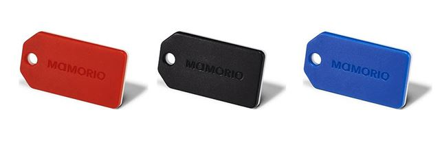 忘れ物防止タグ「MAMORIO」は、ビーコンによる位置特定技術を活用した製品