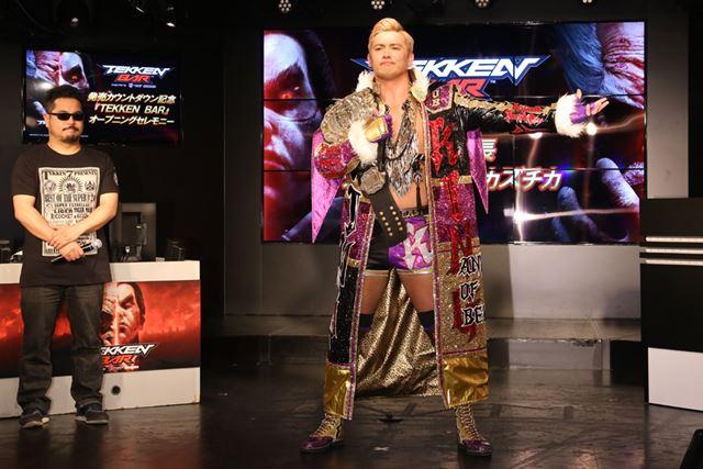 新日本プロレス IWGPヘビー級王者のオカダ・カズチカ選手