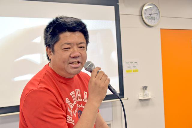 PDAマガジン編集長の立場から、PDAの楽しみ方について話すジャイアン鈴木氏