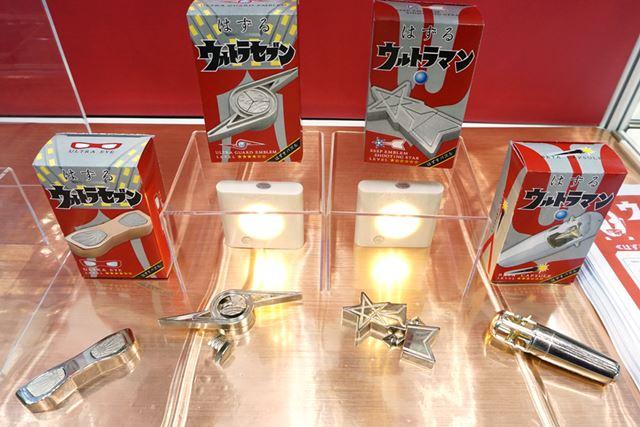 """知恵の輪的な""""外すパズル""""「はずる」のウルトラマンシリーズ。各2,138円(ハナヤマ)"""