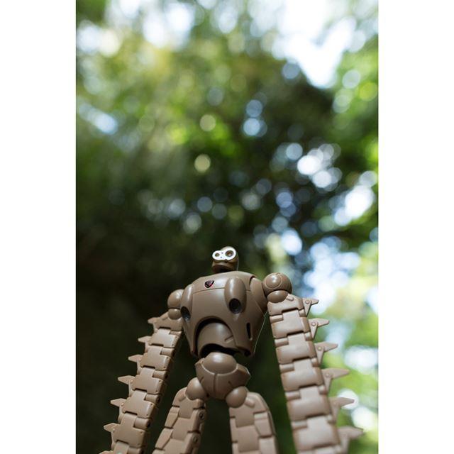 ラピュタに到着して最初に出会ったロボット兵でしょうか