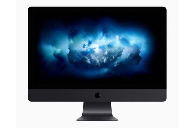 黒い筐体のiMac Pro
