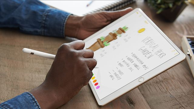 20msの低レイテンシーを実現したApple Pencil
