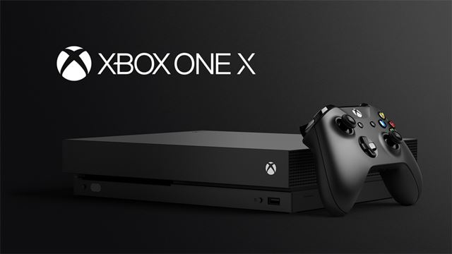 4K対応のゲーム機「Xbox One X」