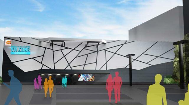 新宿ミラノ座の跡地に完成予定の「VR ZONE SHINJUKU」。グランドオープンは2017年7月14日