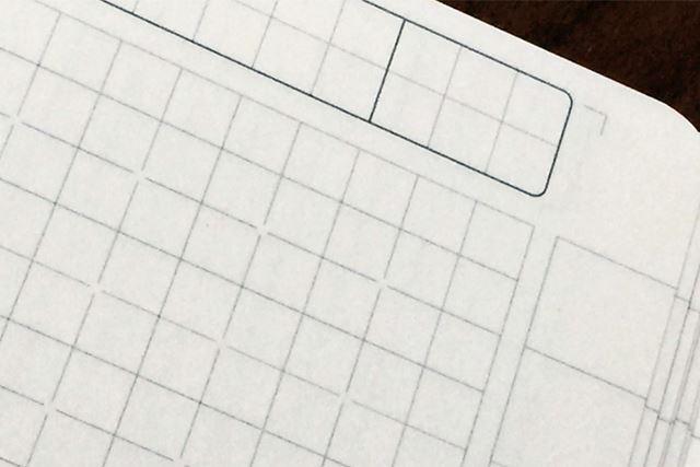 方眼タイプのノートって実際に使ってみるとかなり使い勝手がいいんですよね