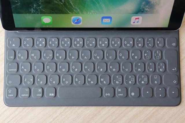 日本語配列のSmart Keyboard。アップルストアでの価格は17,800円(税別)