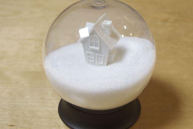 雪に埋もれすぎている感じなので、砂糖はこの半分以下でちょうどよい感じです