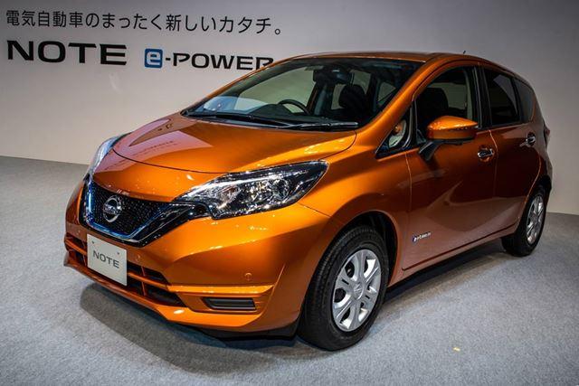 2016年11月に発売された日産 ノートe-POWERは、発売時にアクアの燃費を上回ったことでも話題となった