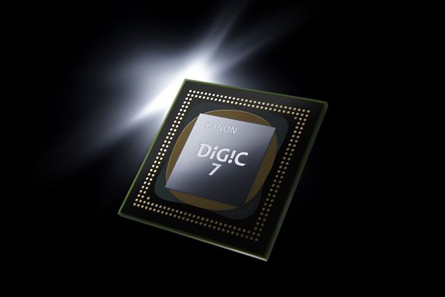映像エンジンは最新のDIGIC 7。EOSシリーズのフルサイズ機としては初の搭載となる