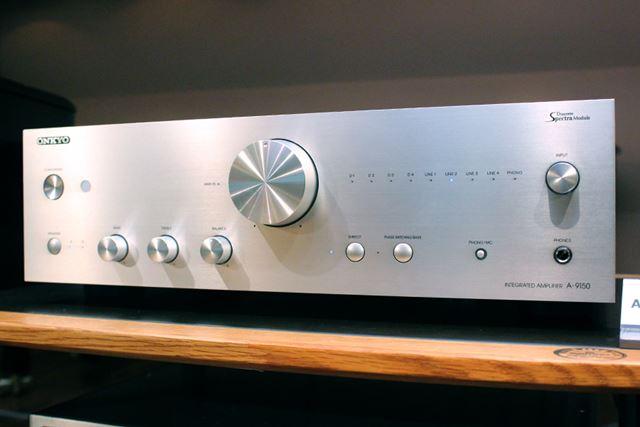 オンキヨーが、70年にわたるオーディオ機器開発の経験で培ったHi-Fi設計を投入したという「A-9150」