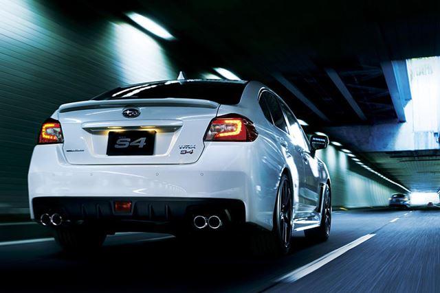 スバル 新型WRX S4 走行イメージ