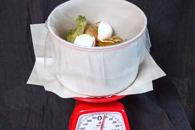 重量を計ってみるとわずか70gに。乾燥させる前は320gだったので、250gも軽くなった! すごい。……臭いけど