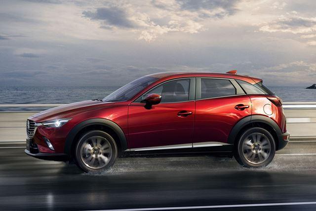 WLTCモードによる燃費値がカタログなどへ表記されている、マツダ「CX-3 ガソリンモデル」