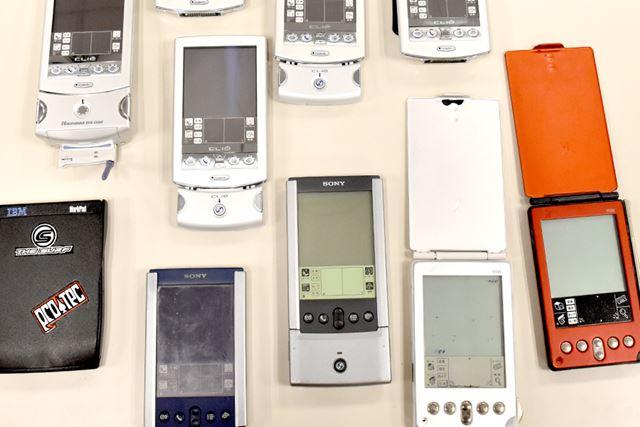 かつて一世を風靡した「PDA」。ビジネスマンの情報管理ツールとしても人気を博した