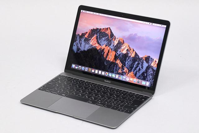 ノート型Macの中では一番コンパクトで軽いMacBook