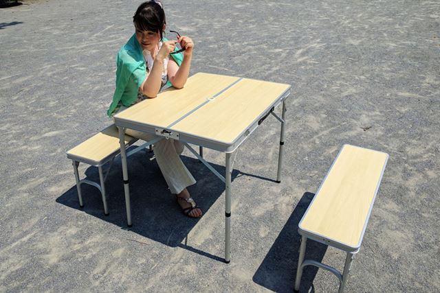 オーソドックスなハイテーブル&チェア