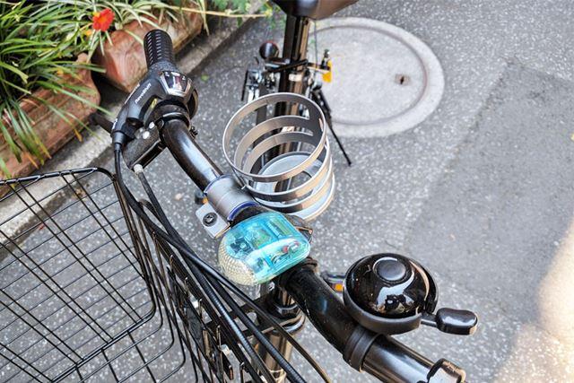 筆者の自転車です