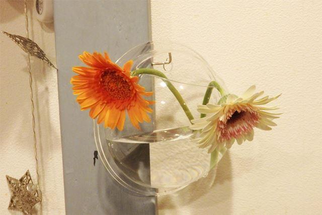 普通のお花をぐっとおしゃれに飾れます