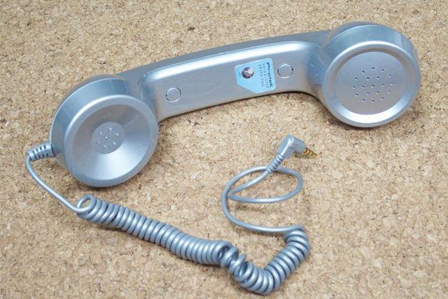 受話器部分です。3.5mmのイヤホンジャックがあるスマホであれば、たいてい対応しています