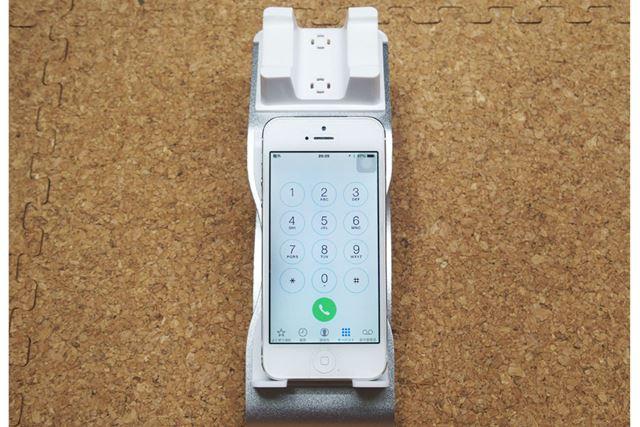 プッシュボタンを表示させるとより電話っぽくなります