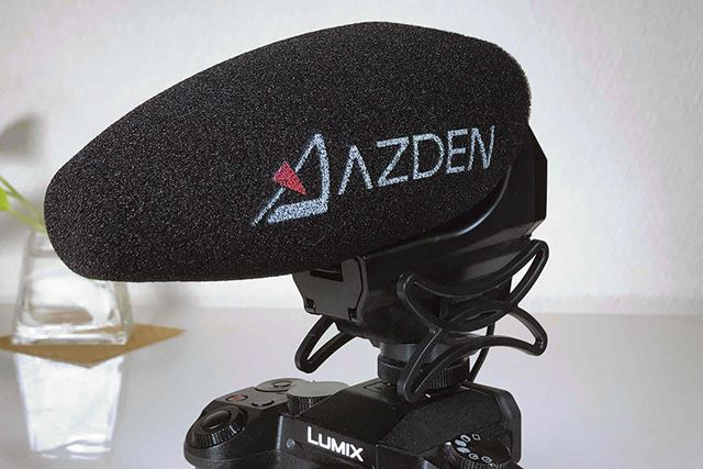 大きなロゴがポイント、AZDEN SMX-30