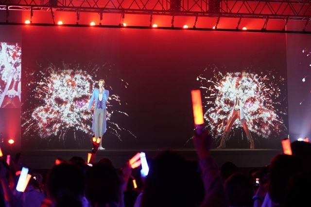 第2公演のバトルソング「シンジ VS レイジ」では、レイジが勝利