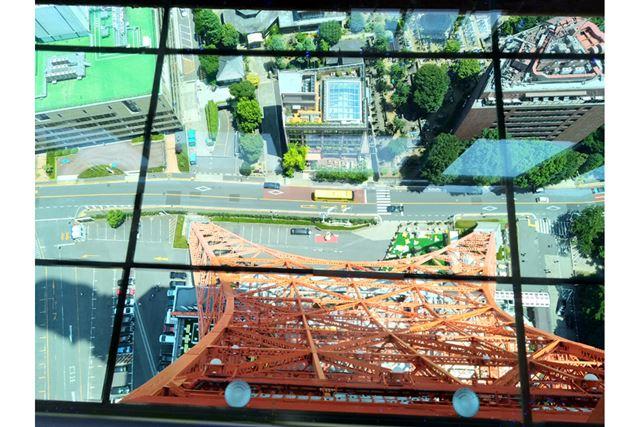 高さ150mの大展望台に到着