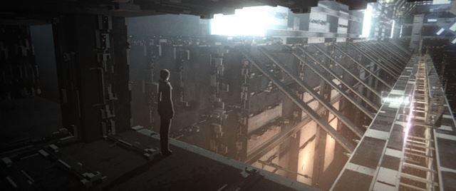 『BLAME!』の作品舞台は階層都市と呼ばれる近未来都市©弐瓶勉・講談社/東亜重工動画制作局