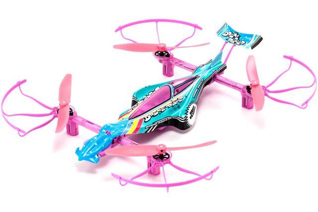 「1/18スケール ラジオコントロール DRONE RACER G-ZERO パステルレインボー レディセット 20571PR」