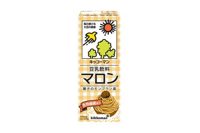 「キッコーマン 豆乳飲料 マロン」(2008年8月から発売)