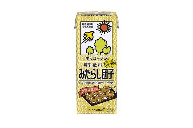 「キッコーマン 豆乳飲料 みたらし団子」(90円/2017年8月21日発売)