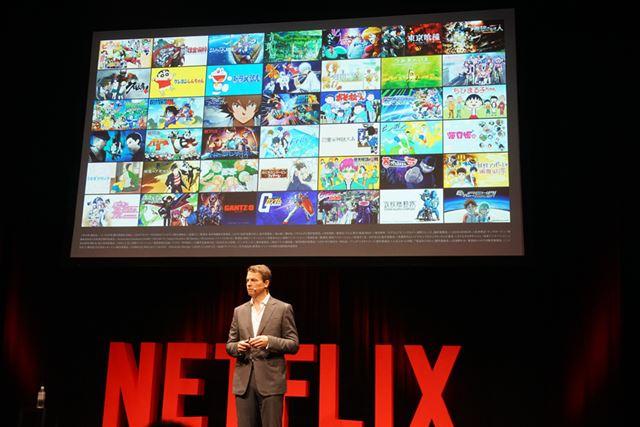 Netflixでは世界中に日本のアニメを配信中