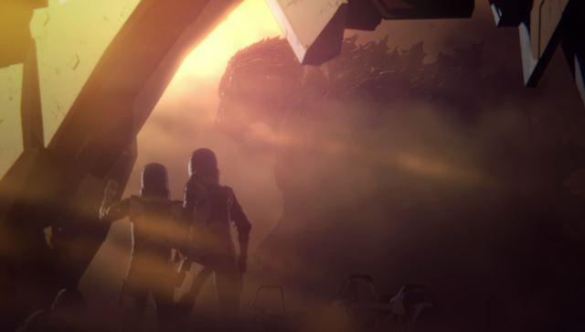 『GODZILLA 怪獣惑星』 ©2017 TOHO CO.,LTD.
