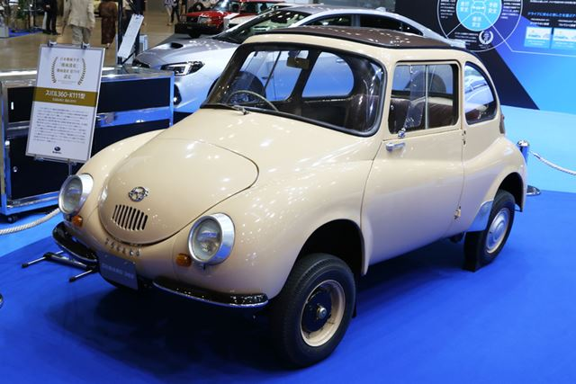 「スバル360」車両は最初に製造された60台のうちの1台