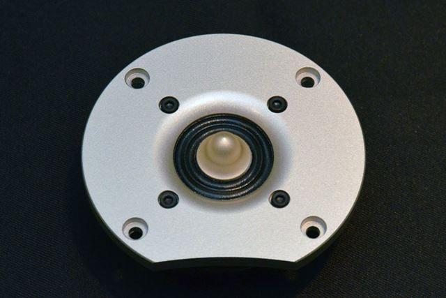 桐スピーカーに使われている新開発の3cm径リングツイーター