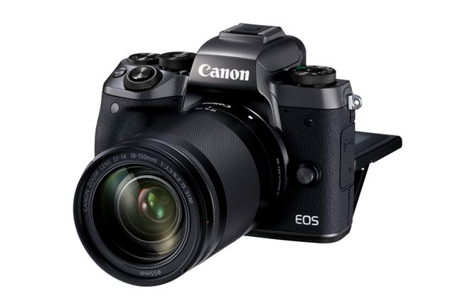EOS M5のEF-M 18-150 IS STMレンズキット