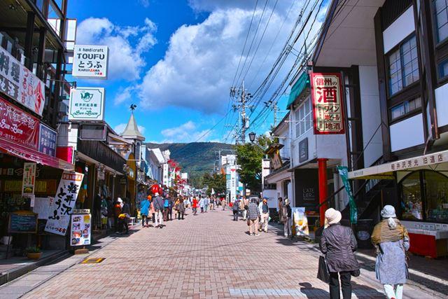 旧軽井沢メインストリート