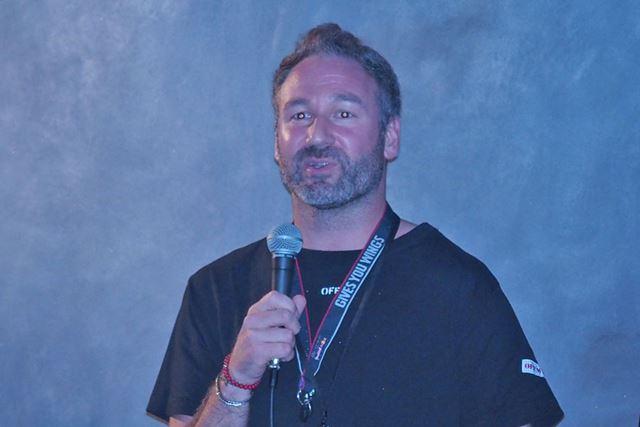 発表会には、スウェーデンから同社CEOのアンドレアス・ブーラル氏も駆けつけた