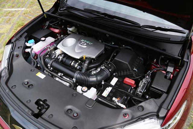 トヨタ 新型「ハリアーターボ」へ搭載されている2リッターターボエンジン