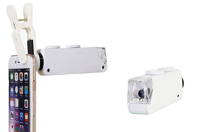 「LED汎用200倍ハイビジョン携帯顕微鏡ズームレンズ」
