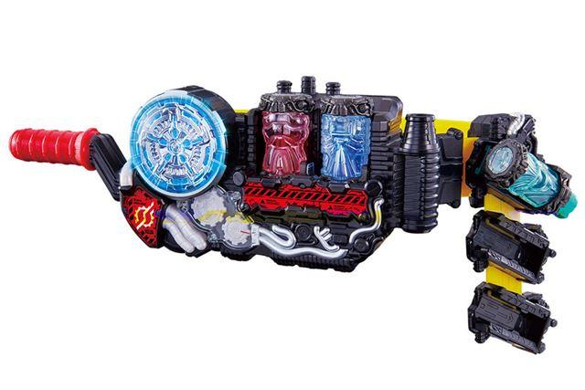 「変身ベルト DX ビルドドライバー」と「DXフルボトルホルダー」のセット