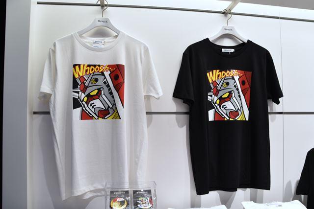 RX-78 ガンダムが大胆にあしらわれたTシャツは4,104円