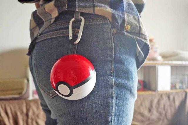 やはりズボンに付けると、一気にポケモントレーナーっぽくなります!