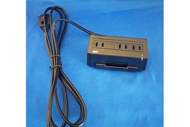 USB端子を備える電源タップです