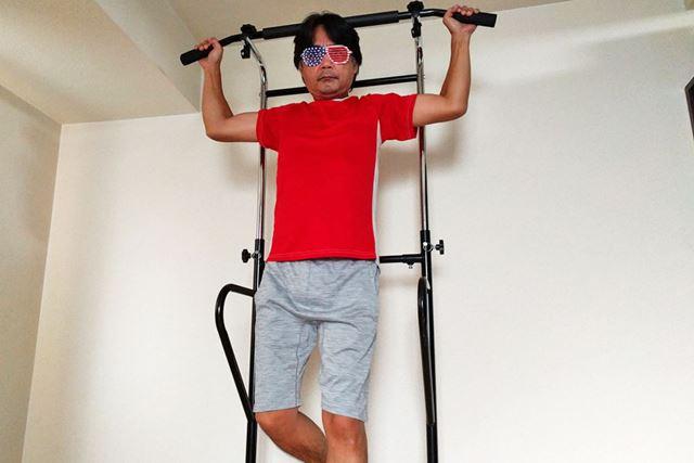 トレーニング仕様のぶら下がり健康器