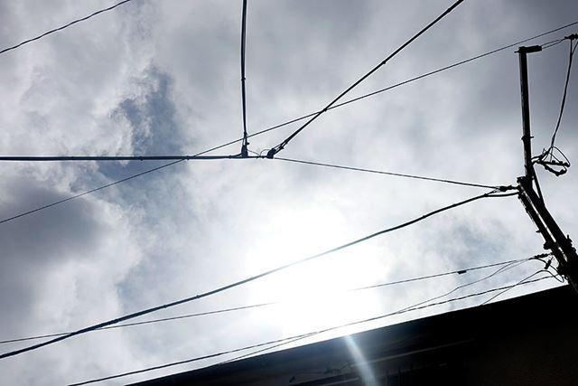 しかしこの日、一応太陽は出ているものの、結構厚い雲があって…苦労しました!