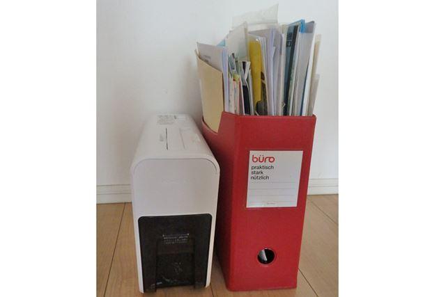 A4のファイルボックスと同等のコンパクトな本体。本棚にも収まる大きさです