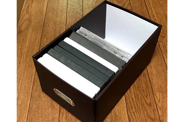 こちらはSサイズ。CDやニンテンドー3DSソフトのパッケージを入れるのにピッタリ
